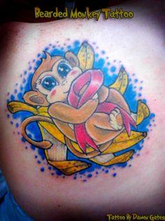 Tattoo by Damon Gates @ Bearded Monkey Tattoo.