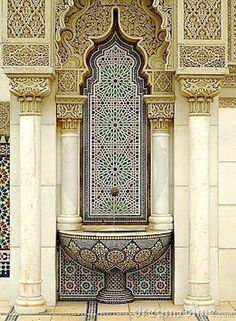 Photo about Beautiful Moroccan Architecture. Image of morocco, heritage, africa - 31959074 Islamic Architecture, Beautiful Architecture, Beautiful Buildings, Art And Architecture, Architecture Details, Morrocan Architecture, Moroccan Design, Moroccan Decor, Moroccan Style