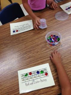 Kindergarten and Mooneyisms: My Math Stations for the Weeks of 9/30 and 10/7