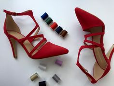 Freelance Shoes - Red Heels Style: Serenity
