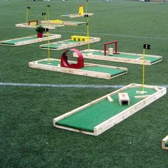 The Best Portable Mini Golf Course Rental on Long Island! Our 9 Hole Mini Golf Course is available for schools, camps, corporate events CALL: Garden Games, Backyard Games, Outdoor Games, Outdoor Fun, Backyard Jungle Gym, Party Outdoor, Outside Games, Miniature Golf, Lawn Games