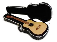 Hardshell Acoustic Guitar Case for Baby Taylor, Little Martin, and Many Smaller Guitars
