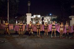 PERU GOES #FEMEN!  Action for abortion rights for violated girls and women