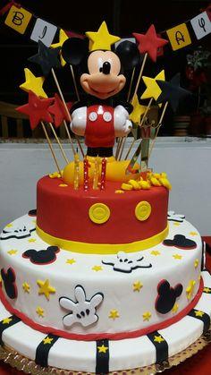 Cake infantil Mickey mouse