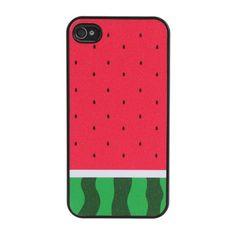 Coque pastèque pour iPhone 4 / 4S