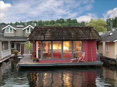 Seattle houseboat. Yes please.