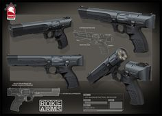 ArtStation - .357 Magnum Tactical Revolver, Kris Thaler
