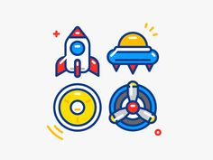 Game Icons - Outline by Sandor