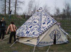 Hugo Kaagman 2015 hollandse kampeertent