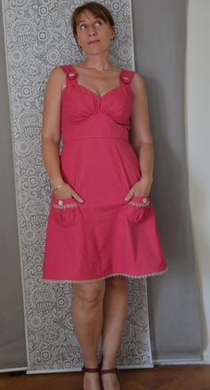 Parfait dress Colette patterns