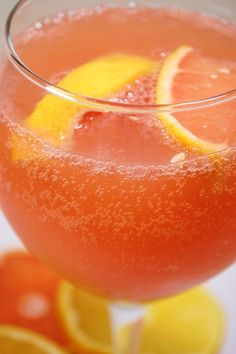 Sparkling Citrus Punch, perfect for #summer!
