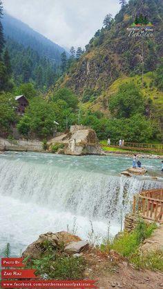 Kattan waterfall, Azad kashmir Pakistan