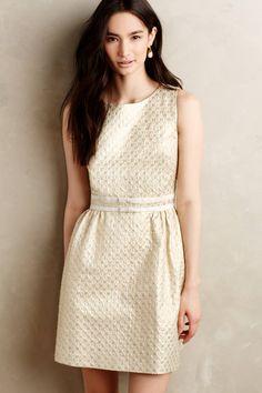 Sunlit Brocade Dress - anthropologie.com