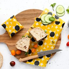 You've heard of Beeawax wrap's but we now have a vegan alternative! Check out our brand new vegan food wraps which are now online! Vegan Food, Vegan Recipes, Cool Kitchens, Wraps, Products, Coats, Vegan Sos Free, Vegan Meals, Rap