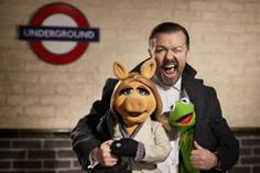 new muppet movie! Ricky Gervais, Tina Fey and music by Bret McKenzie!! SWEET