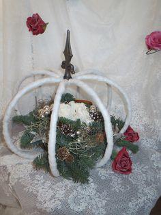 Kroon met lampjes. http://www.bloemenvanbluelagoon.com