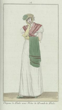 Elegantia, of tijdschrift van mode, luxe en smaak voor dames, Juni 1807, No. 14: Chapeau de Paille..., Anonymous, Evert Maaskamp, 1807