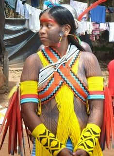 Otávio Araújo: São Félix do Xingu: Kayapós comemoram Dia do Índio