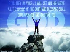 unity God commands blessing - Google Search