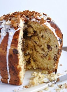 Pan Dulce (Panettone): A classic treat at Christmas! - Pan Dulce (Panettone): A classic treat at Christmas! Nut Recipes, Easter Recipes, Mexican Food Recipes, Noel Christmas, Christmas Baking, Christmas Desserts, Argentina Food, Sicilian Recipes, Argentine