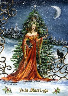 """Yule or Yuletide (""""Yule time"""") is a pagan religious festival observed by the historical Germanic peoples, later being absorbed into and equated with the Christian festival of Christmas. Description from imgarcade.com. I searched for this on bing.com/images"""