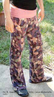 Do-It-Yourself Danielle: DIY Yoga Pants