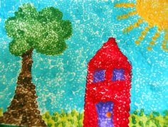 Meaningful Mama: Day #229 - Pointillism for Kids