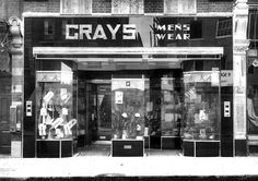 #ThrowbackThursday to the first Grays store in Hackney London.This year Stewart Richard Grays (Pty) Ltd. is celebrating the family name for 90 years! www.Grays.Shop