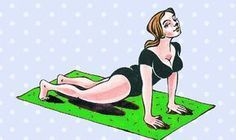 Chrbtica vás prestane okamžite bolieť! Vyskúšajte týchto 6 cvikov, ktoré vám ihneď pomôžu! | Báječné Ženy Asana Yoga, Yoga Fitness, Health Fitness, Beauty Detox, Mother Daughter Fashion, Body Detox, Muscular, Morning Yoga, Fitness Studio