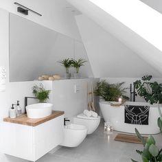 Badezimmer Inspiration: Paula MyHome - Best Home Decors Modern Bathroom Decor, Bathroom Design Small, Bathroom Interior Design, Decor Interior Design, Bad Inspiration, Bathroom Inspiration, Home Decor Inspiration, Scandinavian Style Home, Scandinavian Bathroom