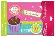 American Girl Doll invitations - links to everything AG for birthday including activity ideas.