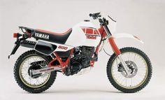 Tenerè 600cc - Yamaha - ('80s version)