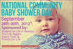 National Community Baby Shower is a great way to help parenting students & families in your community!