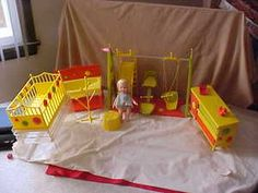 Suzy Cute vintage doll by Remco and some of her furniture