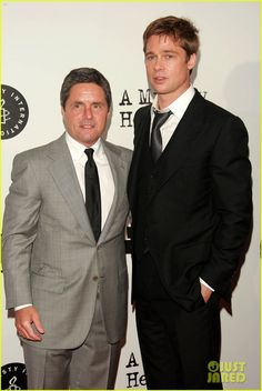 Brad Pitt and Paramount CEO Brad Grey will be ending their longstanding business relationship at the end of the year. Read details of the business split on JustJared.com right now! Brad Pitt, Just Jared, The Hollywood Reporter, Co Founder, Planer, Photo Galleries, Suit Jacket, Relationship, How To Plan