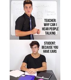 Memes - Because you have ears Funny Quotes, Funny Memes, Hilarious, Jokes, Ethan And Grayson Dolan, Ethan Dolan, Dolan Twins Memes, Dollan Twins, Future Boyfriend