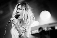 Warpaint @ Lollapalooza 2014. Photo by Daniel Klutznick.
