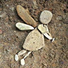 river rock fairy