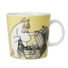 Moomin Mugs. Arabia Finland with beloved Finnish characters Nordic Home, Scandinavian Home, Moomin Mugs, Tove Jansson, Cute Mugs, Marimekko, My Collection, Little My, Kitchenaid