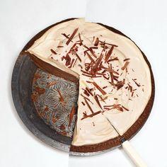Chocolate-Caramel Cream Pie