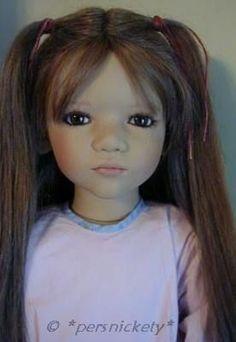 Annette Himstedt doll Liri 2004 Puppen Kinder Collection