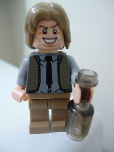 Lego Minifigure Lot Hunger Games Haymitch Abernathy Minifig Custom | eBay