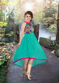 Readymade #Turquoise Georgette #Ladies #Top #Kurt i #nikvik  #usa #designer #australia #canada #freeshipping #ladiestop