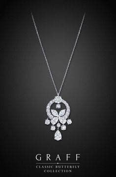 Graff Diamonds: Classic Butterfly Pendant