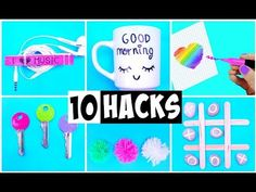 10 AMAZING HACKS THAT MAKE LIFE EASIER | DIY Life Hacks and Crafts - YouTube