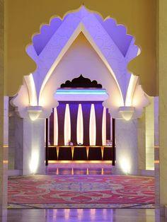 Musqat's Al Husn is one of Oman's luxury hotels.