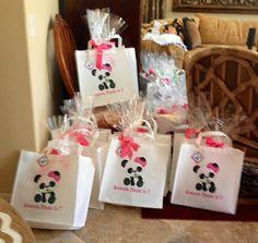 Panda Invitation Printable or Printed with FREE SHIPPING