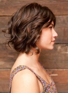 Short Wavy Layered Bob Hairstyles | 2014 Short Hairstyles for ...