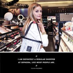 I talked to Olivia Palermo and she told me her top ten picks from #Sephora. Click to read!