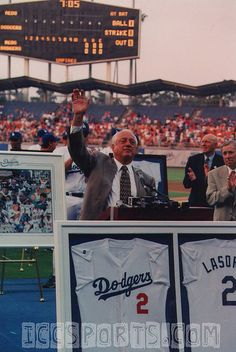 The Los Angeles Dodgers retired the jersey of former manager Tommy Lasorda (August 15, 1997). Only one of 10 jerseys retired by the Dodgers
